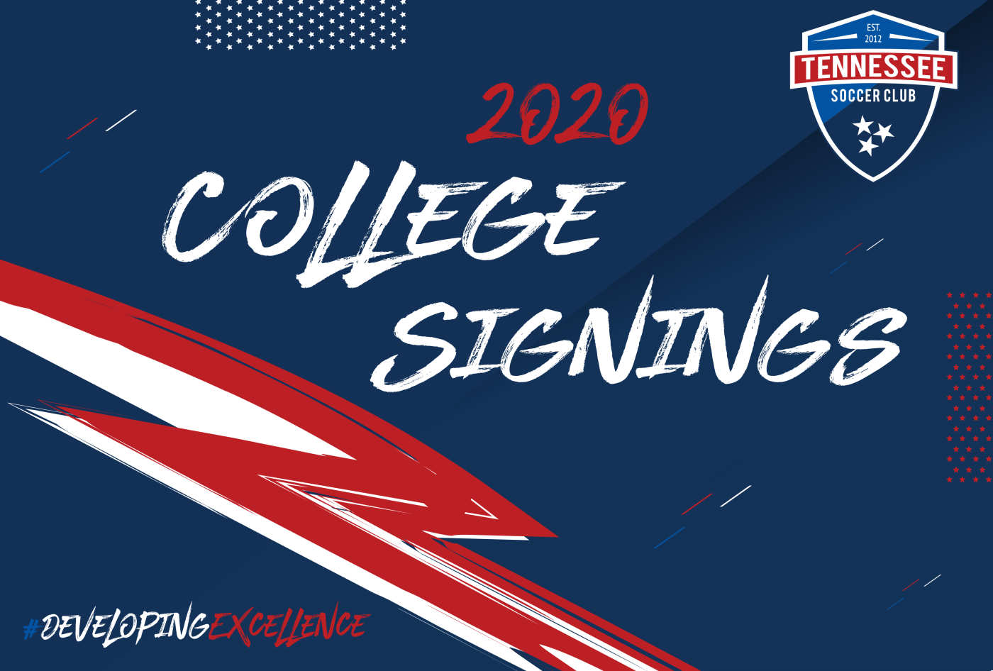TSC Players Signing NLI on Spring 2020 Signing Day