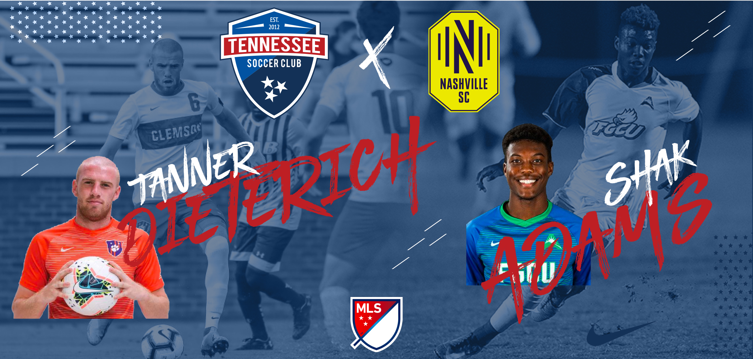 Two Former TSC Players Selected by Nashville SC in 2020 MLS SuperDraft