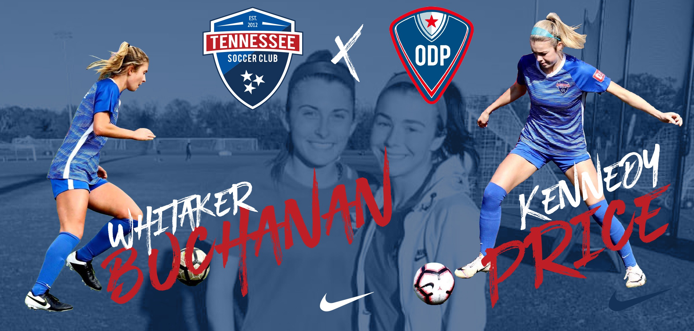 Whitaker Buchanan and Kennedy Price Selected to ODP National Team