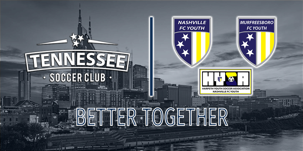 TSC and Nashville FC Youth Excited to Announce Merger