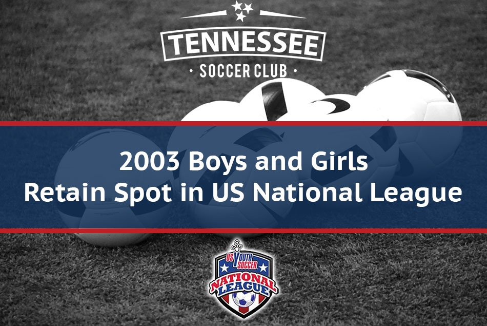 2003 Boys and Girls Teams Retain Place in National League for 2018-19