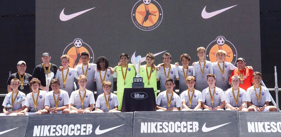 2003 Boys ECNL Win Club's Third National Championship in Three Years