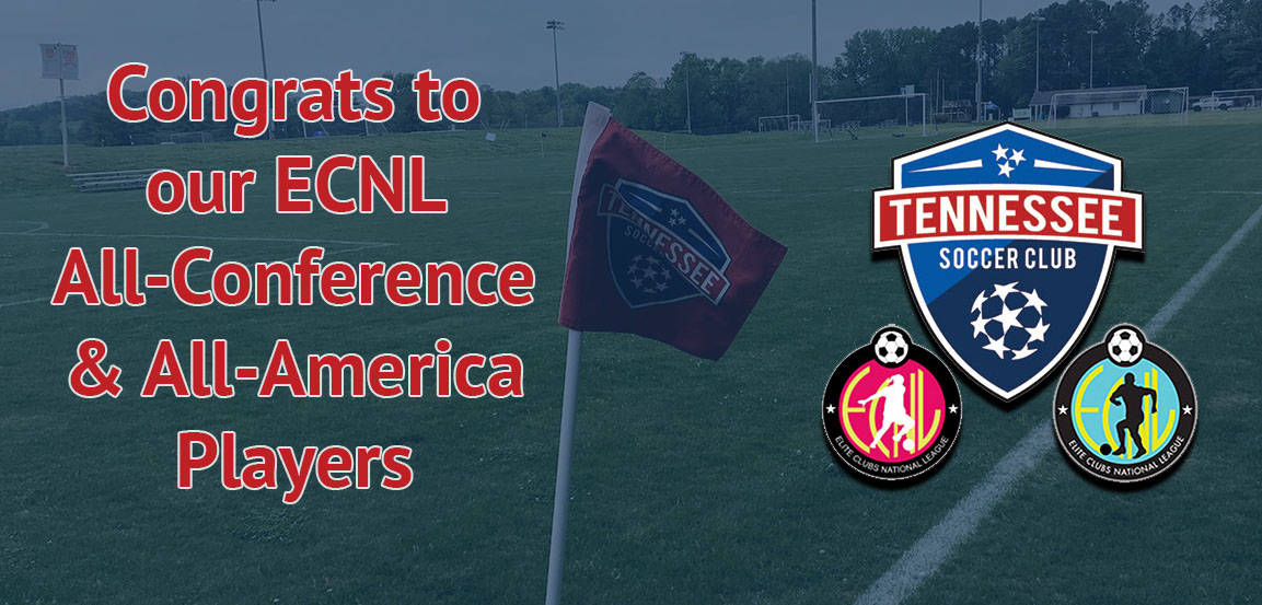 Twelve TSC Players Named ECNL All-Conference With One Earning All-America Recognition