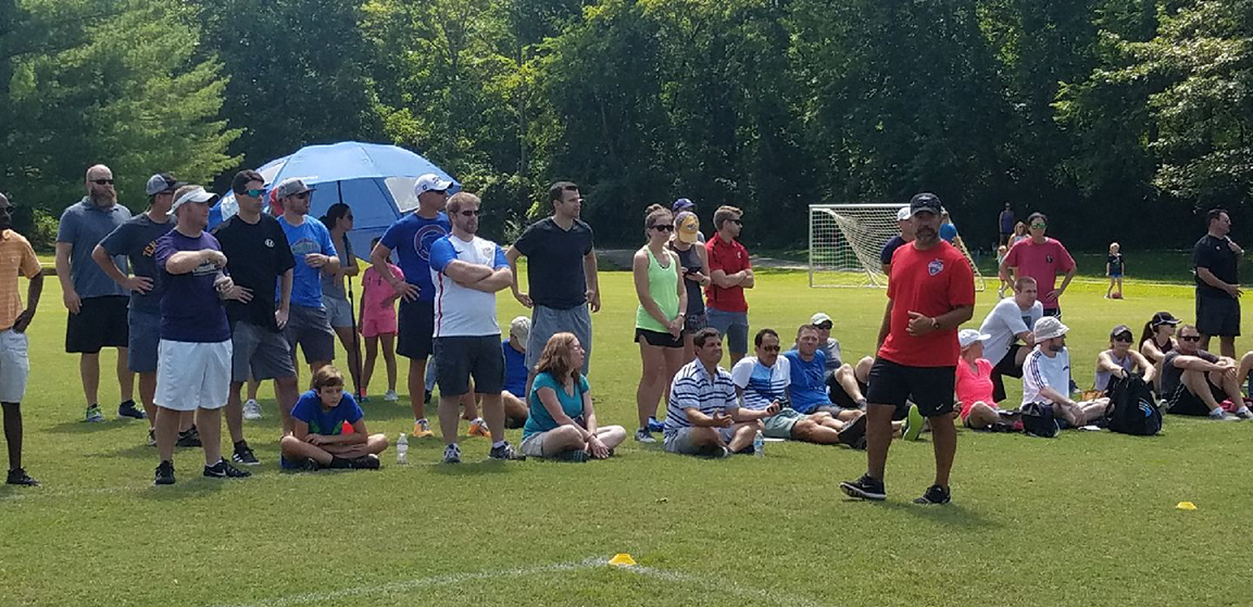 TSC Staff Host Free Coaching Clinics for YMCA of Middle TN Volunteer Coaches