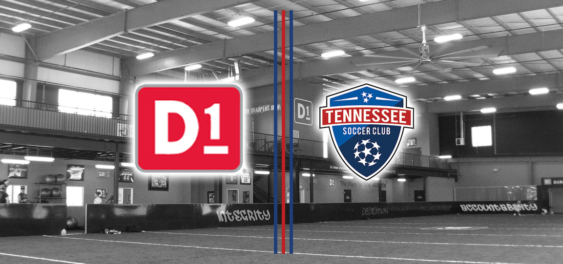 Tennessee Soccer Club Enhances Partnership With D1 Sports Training